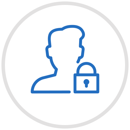 Private discussion area icon